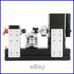 60W 5A High precision Mini Metal Rotating Lathe 12000RPM Motor GS