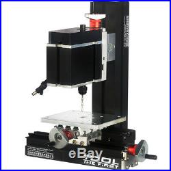 60W High Power Metal Mini Lathe DIY Micro Drilling Machine Wood Driller 12000rpm
