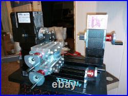 60W Metal Mini Rotating Lathe Machine 12000rpm Woodworking Mini Lathe DIY Tools