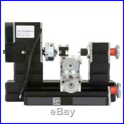 60W Mini Metal Rotating Lathe 12000RPM Motor Kit for Wood Metal Glass Machining