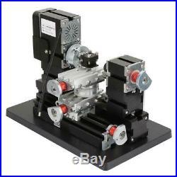 60W Mini Metal Rotating Lathe 12000RPM Motor for Wood Metal Plastic Machine lsy