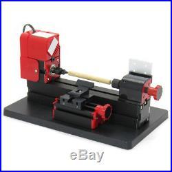 6In1 Functional Mini Wood Metal Lathe DIY Jigsaw Milling Drilling Machine US FDA