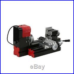 6in1 Mini Wood Metal Motorized Lathe Machine Woodworking DIY Tool 100-240V S9B4