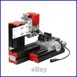 6in1 Mini Wood Metal Motorized Lathe Machine Woodworking DIY Tool 100-240V Z6U6