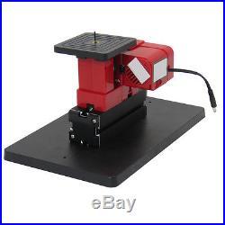 6in1 Mini Wood Metal Motorized Lathe Machine Woodworking Hobby DIY Tool
