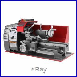 7''×12'' Automatic Mini Lathe Machine 600W Metal Turning Metal Wood Drilling