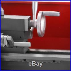 7×12 Metalldrehmaschine 600W Mini-Drehmaschine Drehbank Lathe Metal Präzisions