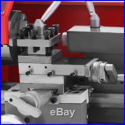 7×12 Mini Metal Turning Lathe machine Automatic Metal Wood Drilling 600W NEW