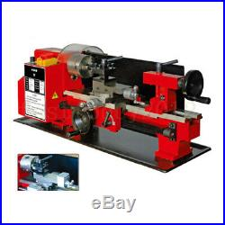 7 X 14 Mini Lathe Machine Metal Woodworking Turning Metal Wood Drilling 350W