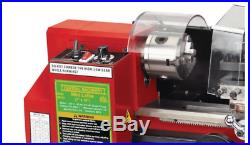 7 in. X 10 in. Precision Benchtop Mini Lathe Small Parts Prototype 12 to 52 TPI