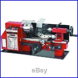7 in x 10 in Precision Shop Garage Benchtop Mini Metal Lathe Tool Machine