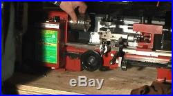 7 x 10 In Precision Mini Benchtop Lathe Metal Variable-Speed High Quality