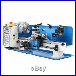 7 x 14 550W Mini Metal Lathe Metalldrehmaschine Metalldrehbank Drehteile