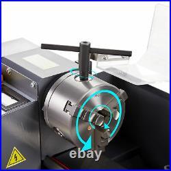 7 x 14 Mini Metal Lathe Machine 550W 2250 RPM DC Motor Metalworking Bench Top