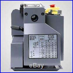 7 x 14Mini Metal Lathe Machine 550W Variable Speed 2250 RPM DC Motor Iron Body