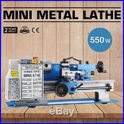 7''x12'' Mini Metal Lathe Metalworking Woodworking 110V Wood-turning 550W
