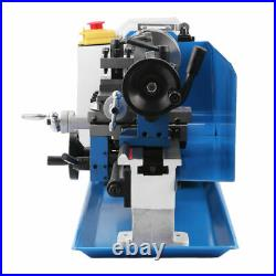 7''x14'' 550W Precision 0.01mm Mini Metal Lathe Variable 0.75HP Speed RPM 2500
