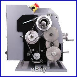 750W 1HP 8x16 Mini Metal Lathe Variable-Speed DC Motor Metalworking Upgraded