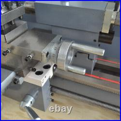 750W 8''x 16'' Mini Metal Lathe Bench Woodworking Variable-Speed 50-2500RPM