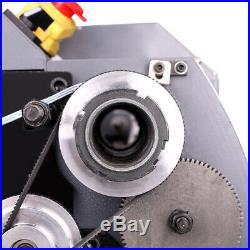 750W 8x16 Automatic Mini Metal Lathe Variable-Speed Metalworking Milling Tool