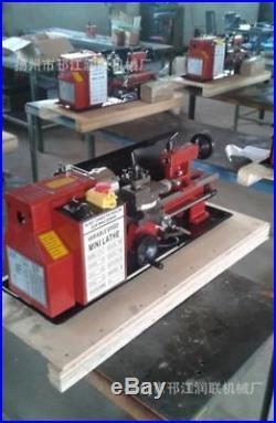 7X12 400W Precision Mini Metal Lathe Variable Speed New 2500Rpm yk