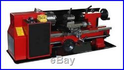 7x12 400W Precision Mini Metal Lathe Variable Speed 2500RPM fast shipping new