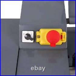 8 × 16 Mini Metal Lathe Bench 1100W 1.5HP 9 Tools Brushless Motor 2 Chucks
