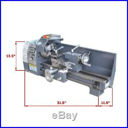 8 x 16 750W Variable-Speed Mini Metal Lathe Bench Top Digital NEW