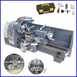 8''x 16'' Mini Metal Lathe 750W Precision Variable Speed 2500 RPM Metal gears