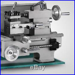 8 x 16Variable-Speed Mini Metal Lathe Bench Top Digital RPM 750W