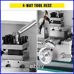 8 x 16Variable-Speed Mini Metal Lathe Cutter Steady Rest infinitely variable
