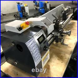 8 x 31 Mini Metal Lathe 750W Machine Variable Speed 50-2500 RPM High Precision