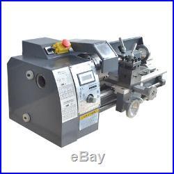 8''x16'' 750W 110V High Precision Mini Digital Metal Lathe Variable Speed