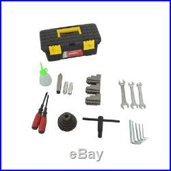 8''x16'' 750W Mini Metal Bench Top Variable Speed Lathe and Carbide Cutter Kit
