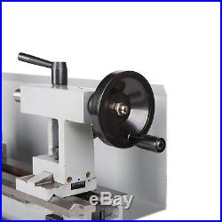 8x 14 Mini Metal Lathe Metalworking Woodworking Metal Gears Bench Top