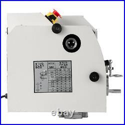 8x14 Digital Metal Mini Lathe Machine Auto Variable Speed 2250 RPM 650W 110V