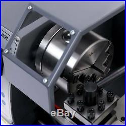 8x14 Mini Metal Lathe Metalworking Woodworking 600W Motor With5 Turning Tools