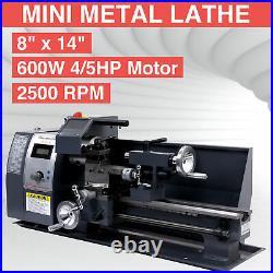 8x14 Mini Metal Lathe Metalworking Woodworking Metal Gears Bench Metalworking