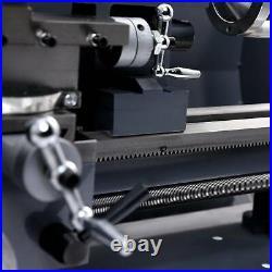 8x14in Digital Metal Turning Mini Lathe Machine Auto Metal Wood Milling DIY