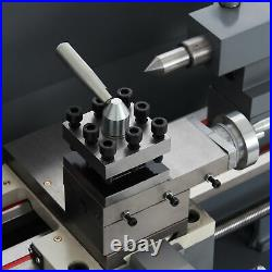 8x16 Inch 2250rpm Mini Metal Lathe w 1100W Brushless Motor 5 3-Jaw Chuck & More