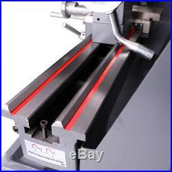 8x16 Mini Metal Lathe Automatic Variable-Speed DC Motor 750W Metalworking Tool