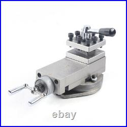 AT300 Lathe Tool Post Assembly Holder Mini Lathe Accessories Metal Change 16mm