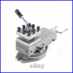 AT300 Tool Holder Mini Lathe Accessories Metal Change Lathe Assembly 80mm Stroke