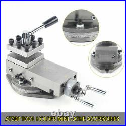 AT300 Tool Holder Mini Lathe Accessories Metal Change Lathe Assembly Industrial