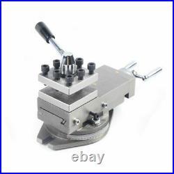 AT300 Tool Holder Mini Lathe Accessories Metal Change Lathe Assembly Machine Kit