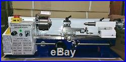 Amadeal Mini Lathe Brand New 7x14 Machine with DRO & 4 Chuck Metal Gears
