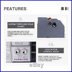 Auto Mini Metal Lathe 8.7 × 29.5 1.5HP 1100W Digital Metal Gear With 5 Tools