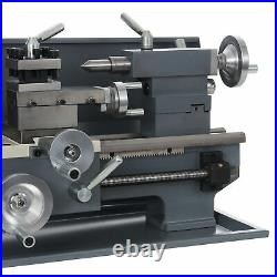 Benchtop Mini Metal Lathe Cutter for Metal and Woodworking 8x16 750W 2250rpm