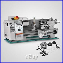 Brushless Motor Mini Metal Lathe Woodworking Tool Drilling Motorized Machine