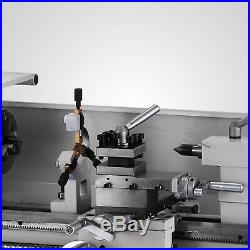 Brushless motor Mini Metal Lathe Woodworking Tool 2500RPM Bench Top Metal Wood